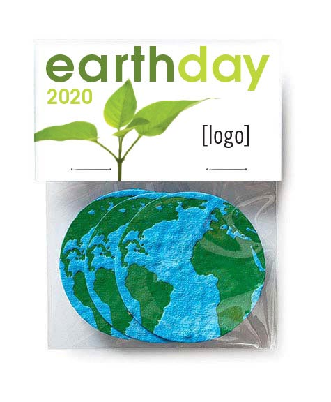 Seed Paper Earth Shape Pack