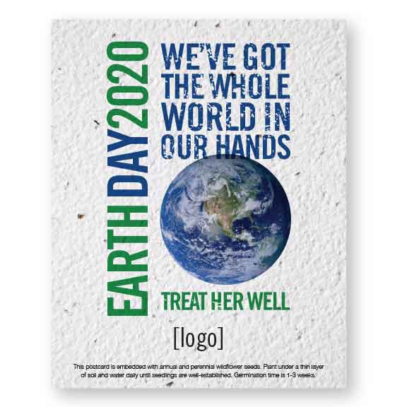 Seed Paper Postcard