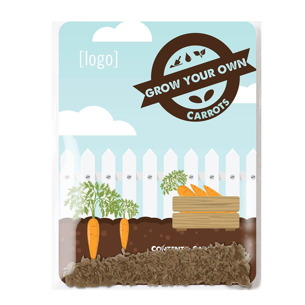carrot seed packets